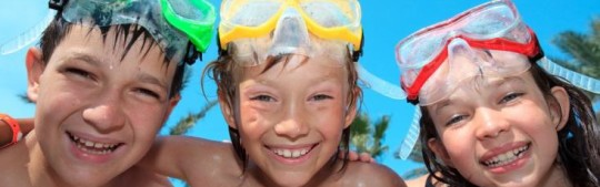 snorkel tour for kids